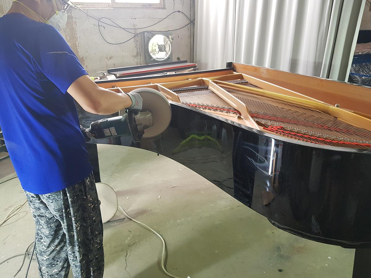 그랜드피아노 광택수리 6